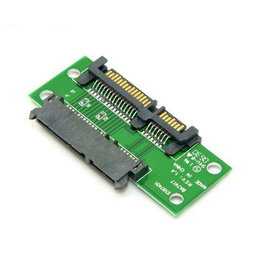 "3.5"" & 2.5 inch 22 Pin 7+15P SATA Male to Female Extension Converter Adapter PCB Brazil Russia Wholesale"