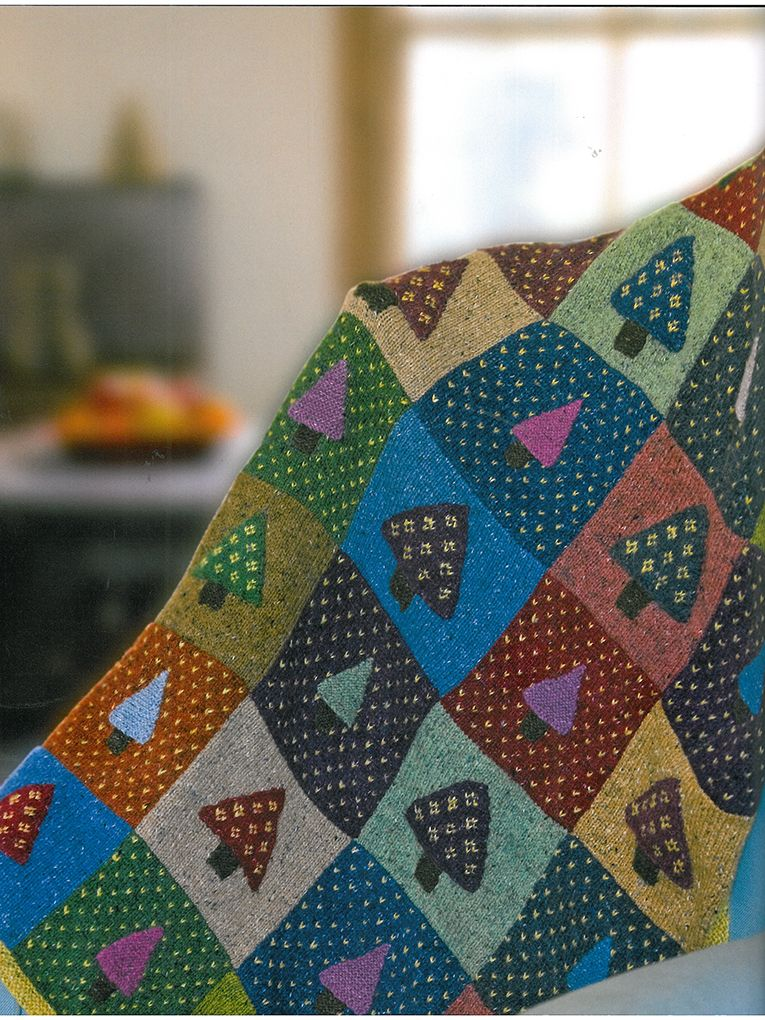 Nordic Throw - Knit this stunning homeware throw from Easy ...