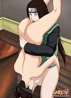 Порно наруто тентен и неджи