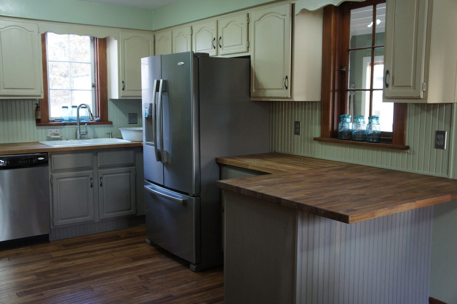 Kitchen trends for 2015 slate gray fridge and appliances for Chalkboard appliance paint