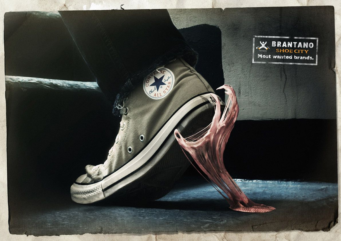 converse shoes advertisement appeals with examples