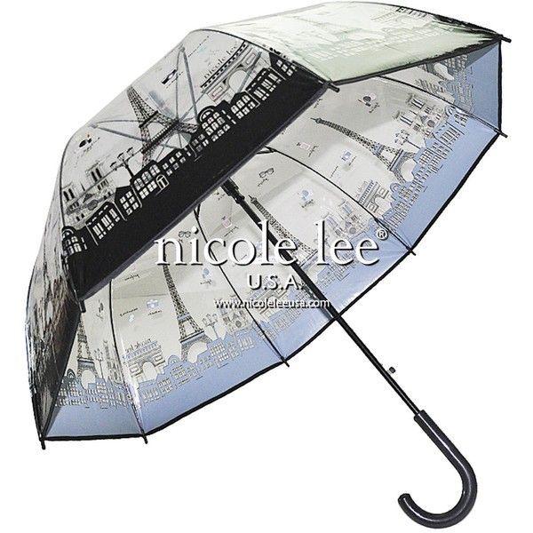 PARIS CLEAR UMBRELLA ($22) ❤ liked on Polyvore featuring accessories, umbrellas, clear bubble umbrella, bubble umbrella, print umbrella, colorful umbrellas and clear umbrella #clearumbrella PARIS CLEAR UMBRELLA ($22) ❤ liked on Polyvore featuring accessories, umbrellas, clear bubble umbrella, bubble umbrella, print umbrella, colorful umbrellas and clear umbrella #clearumbrella