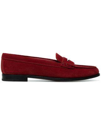 Church's Suede Kara flat loafers shop cheap online 5FwRrnq