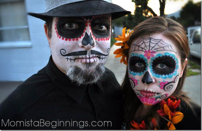 day of the dead man and woman costume Kassia\u0027s Costumes - homemade halloween costume ideas men
