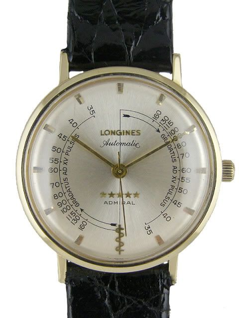 bc6e5656f60 Longines Pulsometer Automatic Admiral Doctors watch Relojes Bonitos