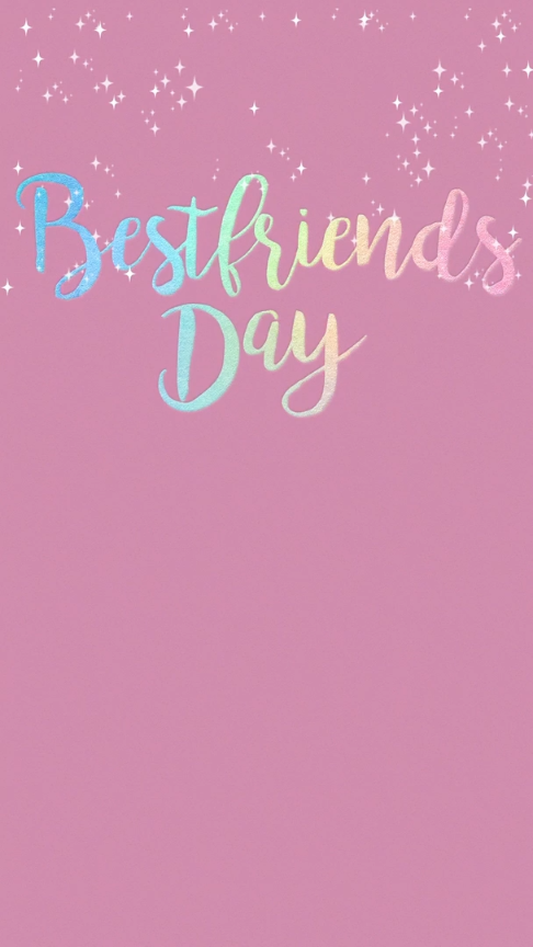 Best Friend Day Invitation Celebrate Your Bff Best Friends Day Is Every Day Right Vineideas In 2020 Best Friend Wallpaper Best Friend Day Friends Day