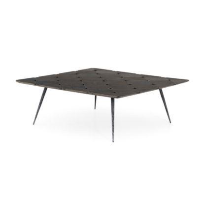 Best Harley Black Oak Coffee Table Crate And Barrel Oak 400 x 300