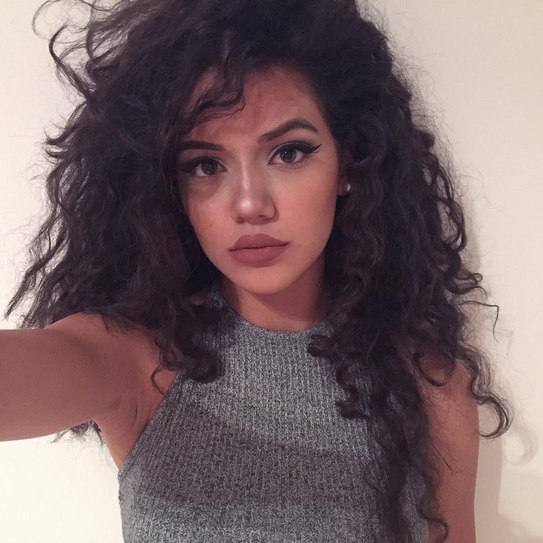 "uniquedollface: ""dinadenoire "" | Curly hair styles, Hair ..."