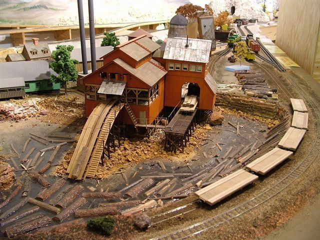 www haveit cz O Scale Coon Gap Sawmill - Kit Building