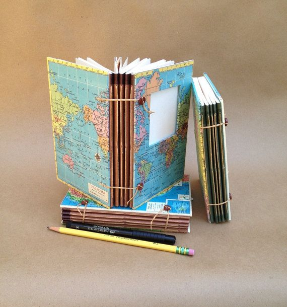 Expandable Travel Notebook, Smash Book Or Art Journal With