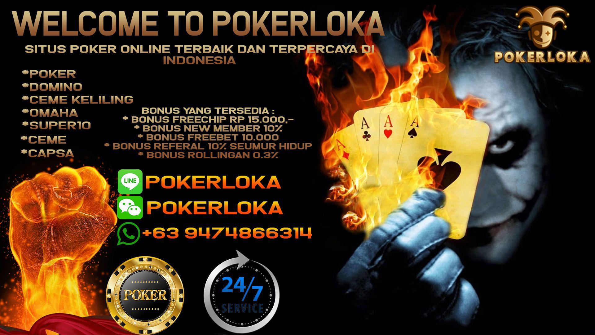 Pokerloka merupakan situs poker online terbaik dant