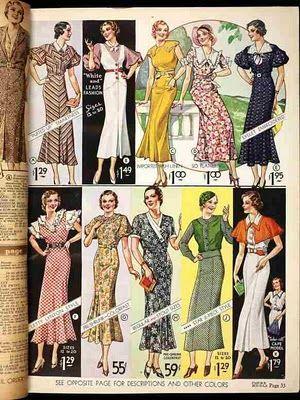 1933 fashions