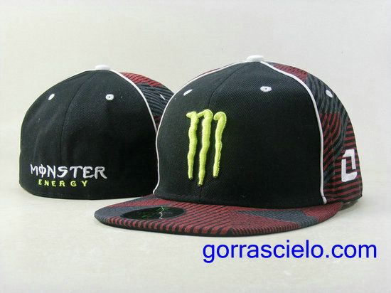 Comprar Baratas Gorras Monster Energy Fitted 0091 Online Tienda En Spain. 27eea970710