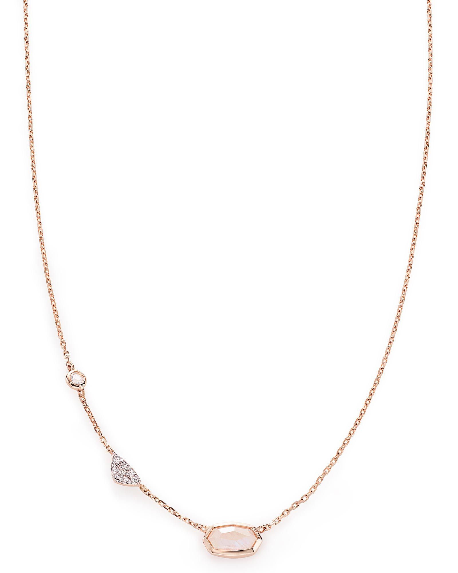 Shop fine jewelry at kendra scott with a rainbow moonstone strung