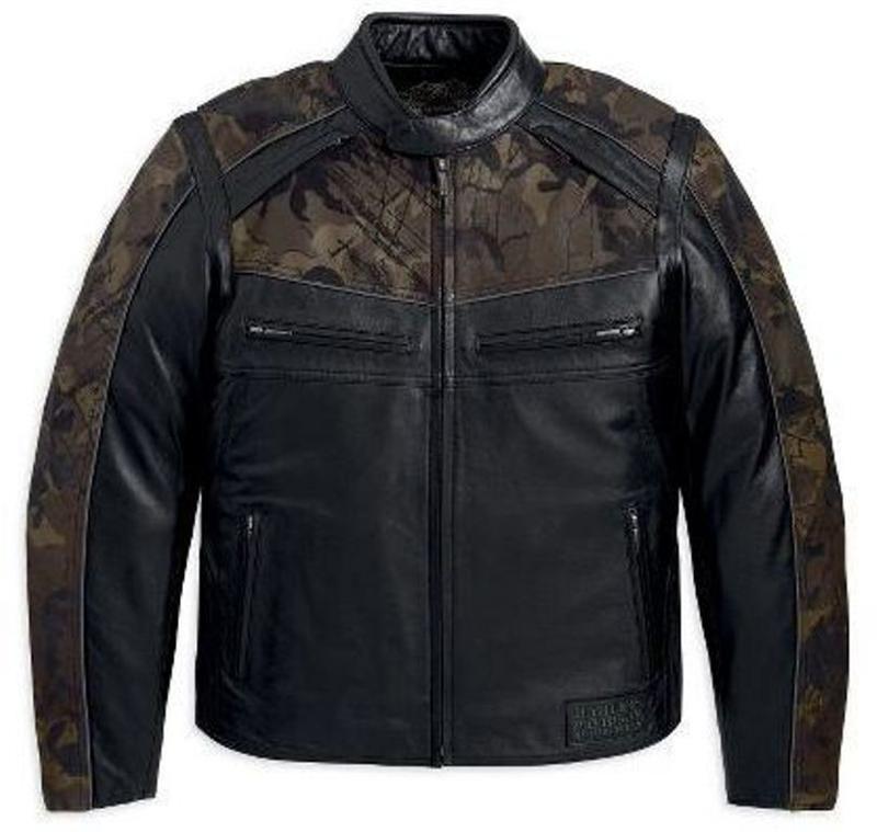 97065 Davidson Deceptor For Mens Harley Jacket 11vm Leather b6gvYfmI7y