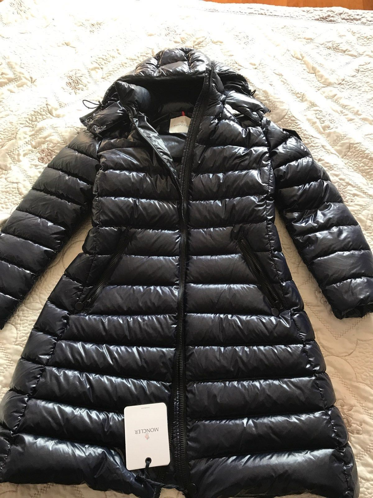 100 Authentic Brand New With Tags Moncler Moka Coat Size 3 M L Measurements 18 Inches Chest And 23 Inches In Hip Coat Is Lacque Moncler Moncler Jacket Coat [ 1600 x 1200 Pixel ]