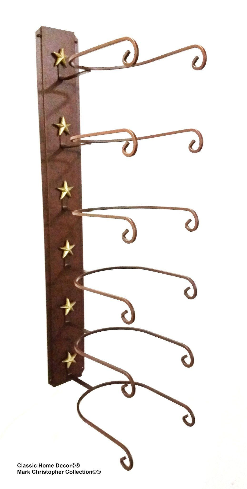 Cowboy Hat Holder Star 886 Ct American Made 6 Tier Hat Rack Cowboy Hat Rack Hat Rack Cowboy Hats