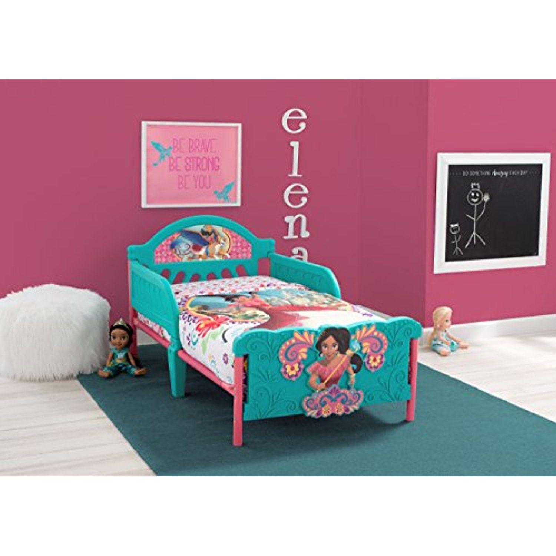Delta Children 3D Footboard Toddler Bed, Disney Elena of ...