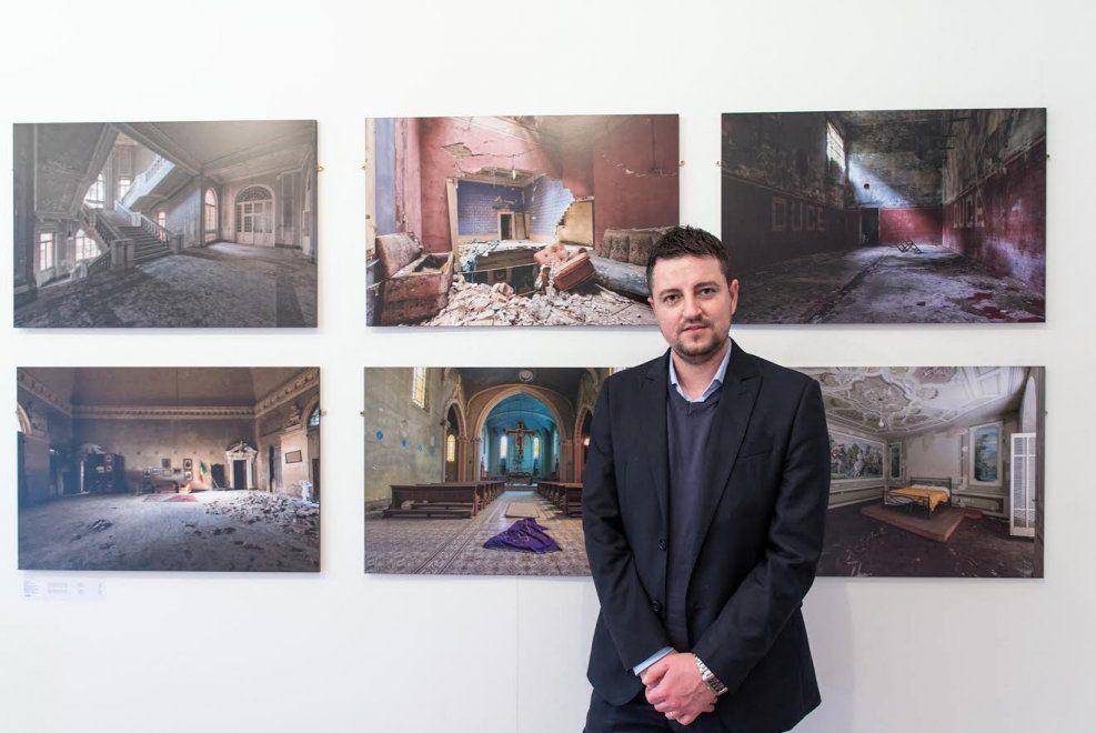 """Forlì, l'operaio-fotografo: """"I miei luoghi abbandonati scelti pure da una galleria di Londra"""""""