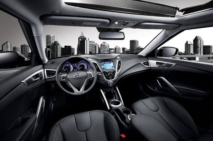 Hyundai Veloster Interior