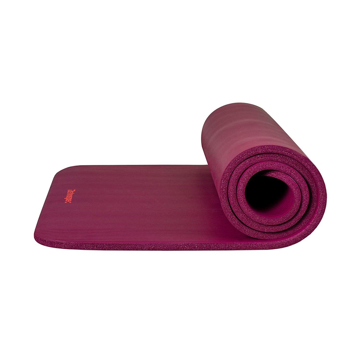 Dralegend Yoga Mat Exercise Fitness Mat High Density Non Slip Workout Mat Classic 1 4 Inch In 2020 Mat Exercises Pilates Workout Yoga Mat