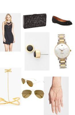 Gold and Black ✌💕 By Gabija L.