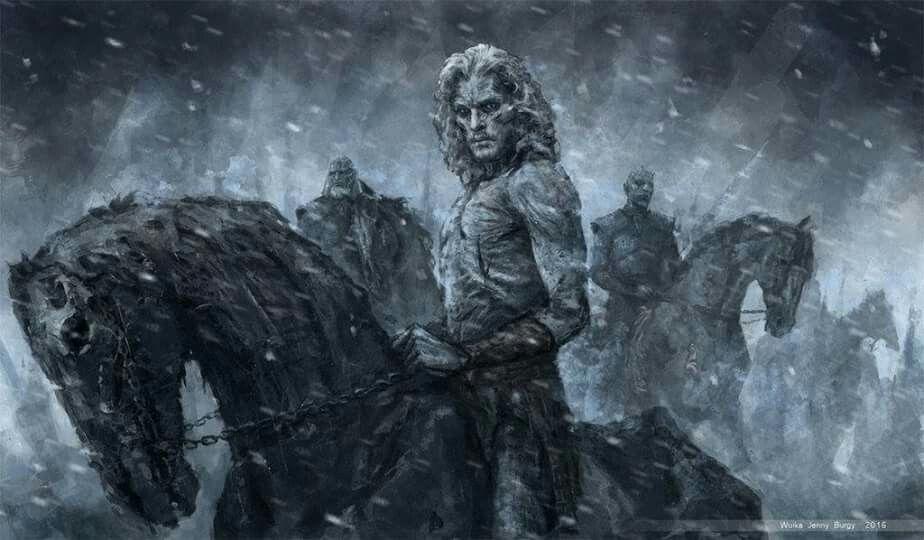 White Walker Jon Snow by Wuika.