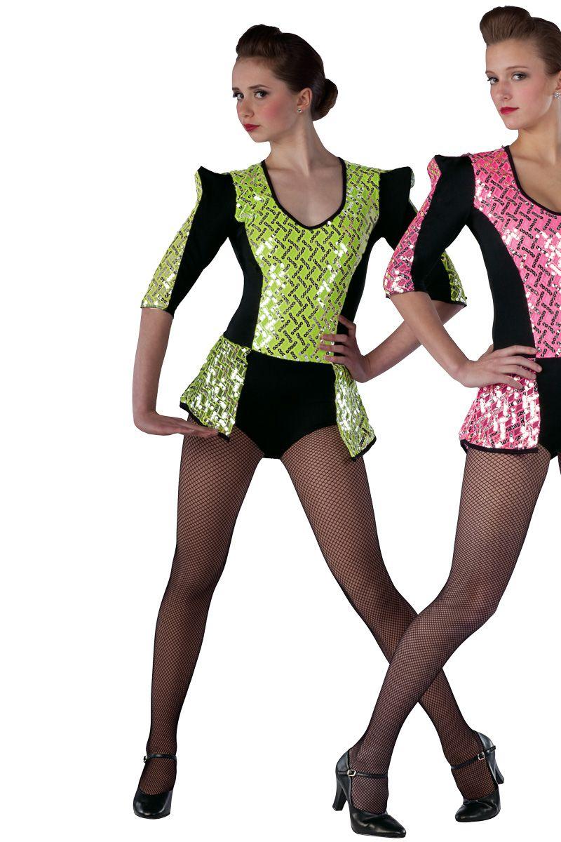 15334 Poker Face | Tap Jazz Funk Dance Costumes | Dansco