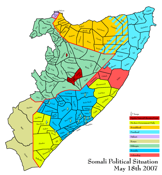 This Was Somali Map But Any More Now The Map Of Somalia Looks Like
