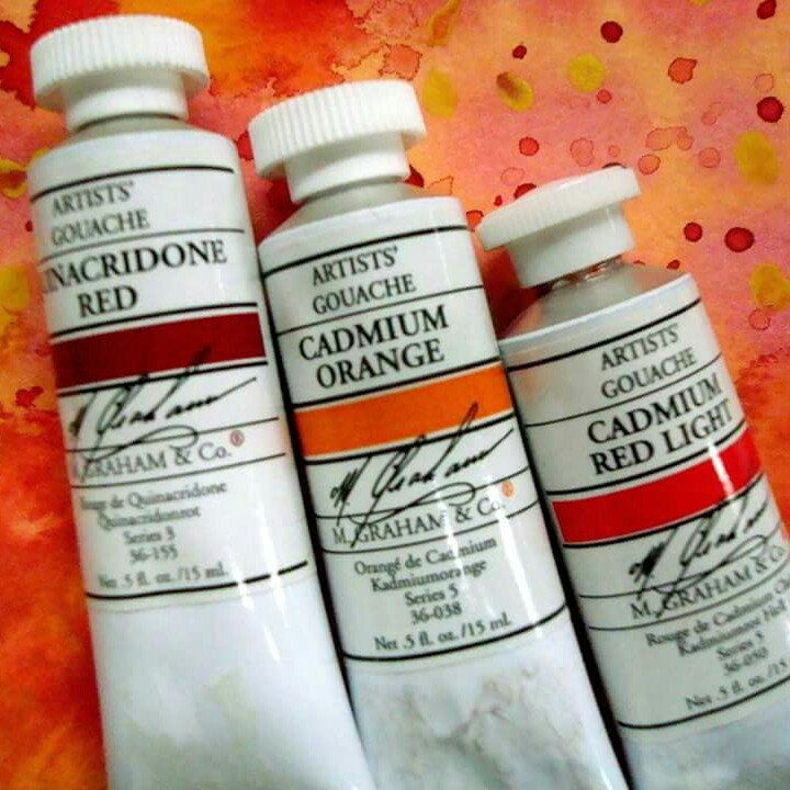 Top Branded Gouache Paints By M Graham Make The Best Most Vibrant Paintings