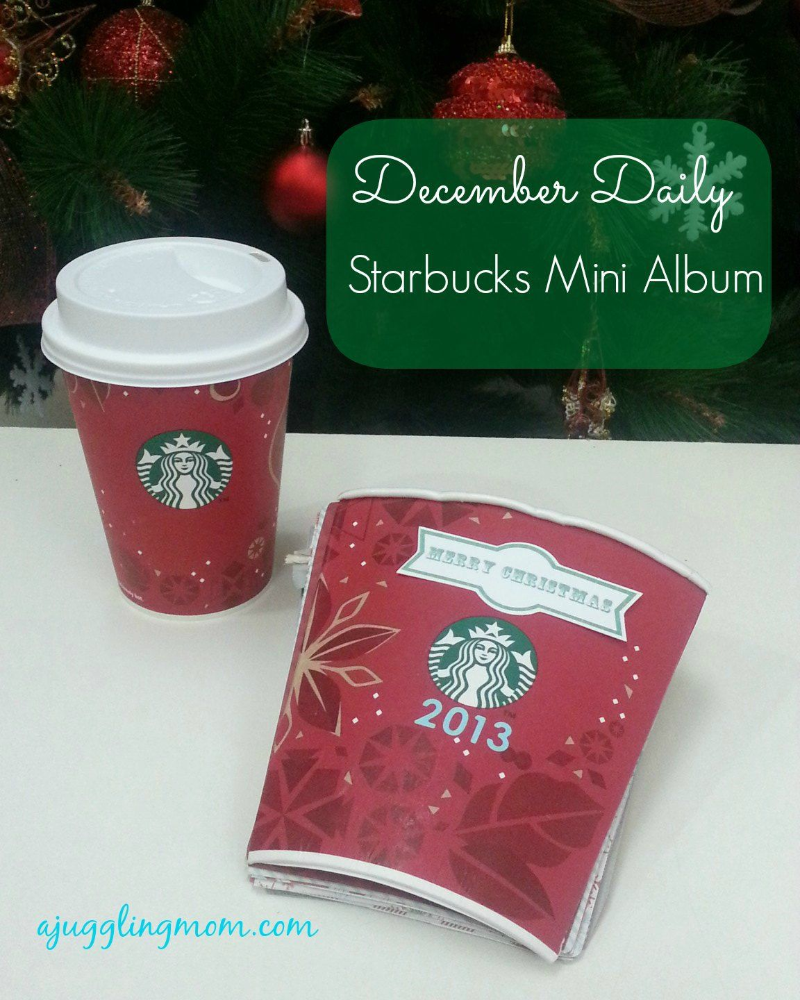 Coffee Book Album: December Daily - Starbucks Mini Album