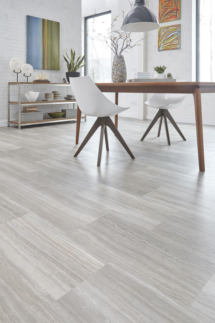 Light Gray Indoor Wood Pvc Click