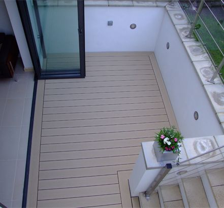 Decking Wood Plastic Composite Sheets Affordable