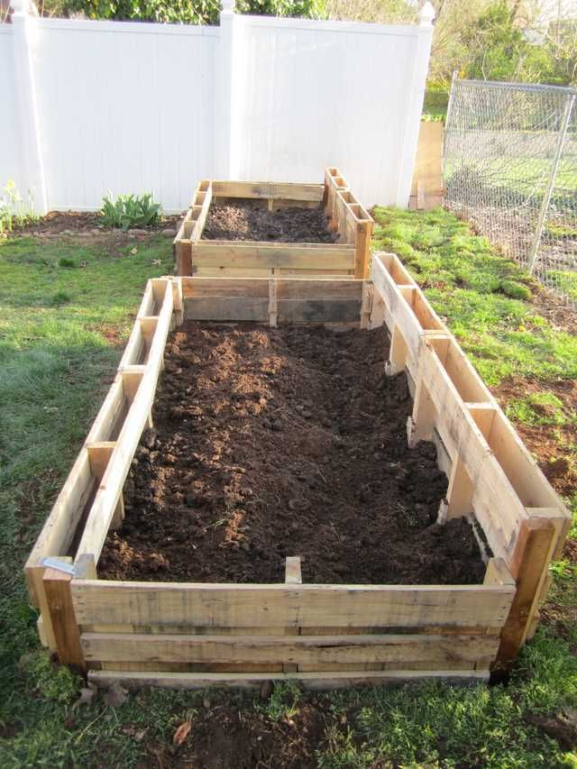 Sick Of Pallet Projects Yet Try This Raised Garden Bed 400 x 300