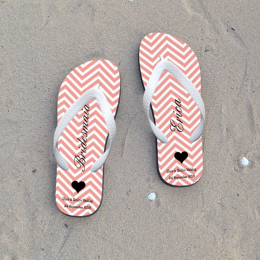 54dd668996691 Just married flip flops