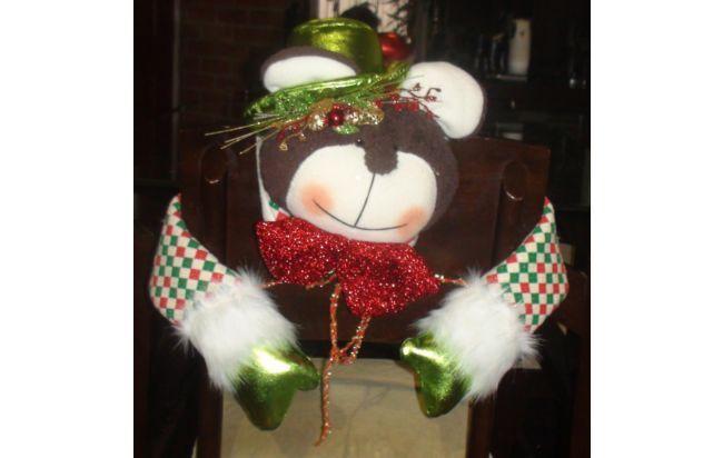 forros navideños para sillas