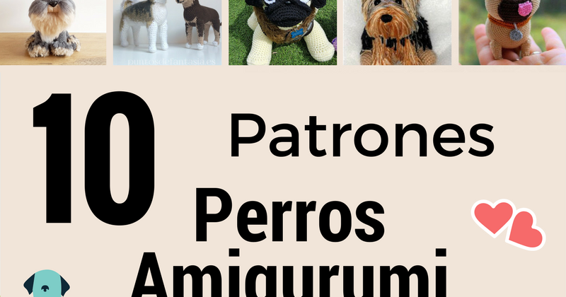 perro amigurumi patron gratis dog amigurumi free pattern crochet ...