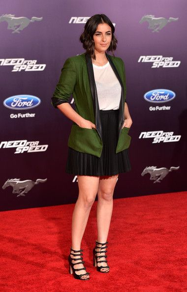 Alanna Masterson - 'Need for Speed' Premieres in Hollywood ...