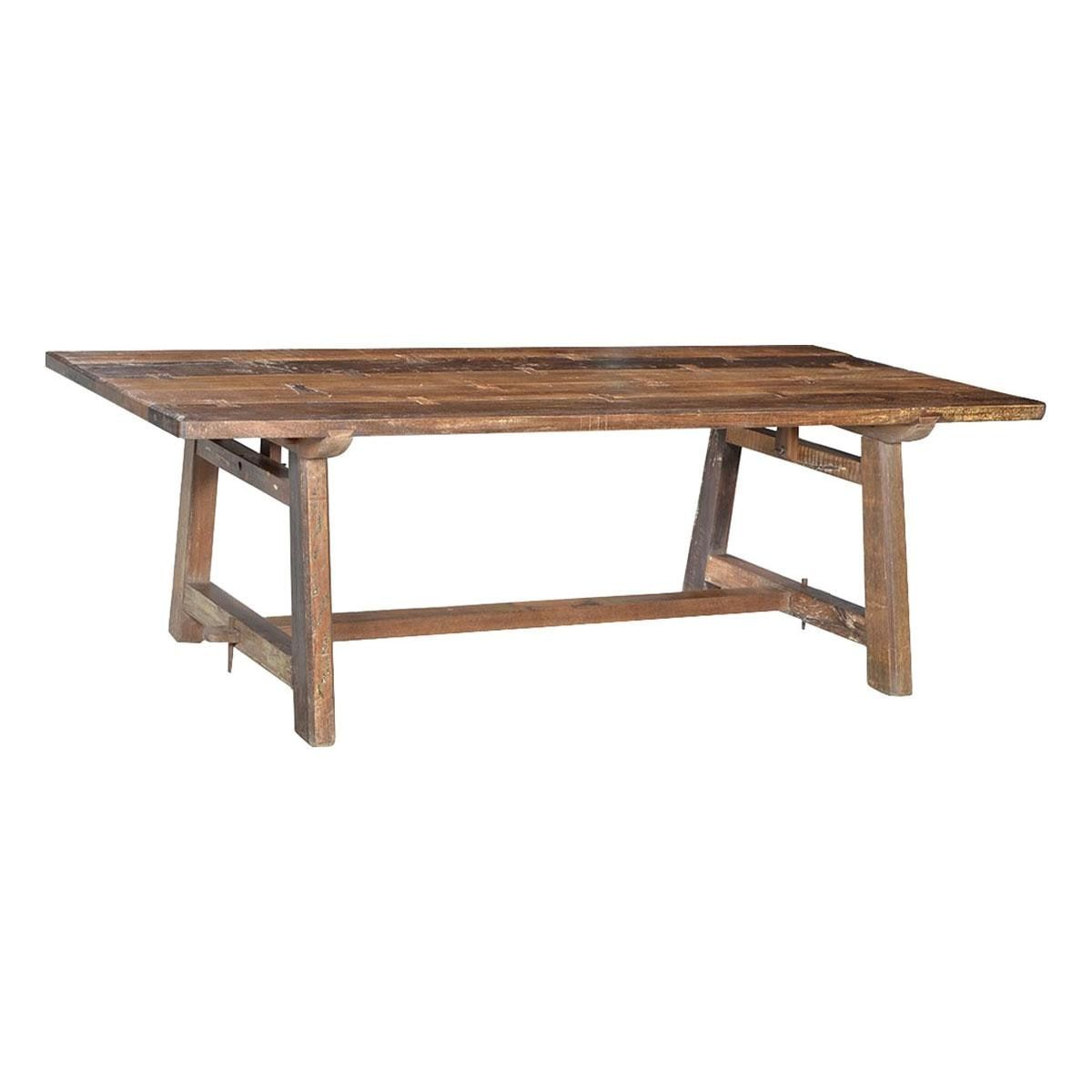 Blue Sun Designs Dining Table In Burma Teak Table Only