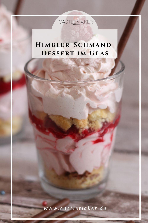 Himbeer-Schmand-Dessert #foodsanddesserts