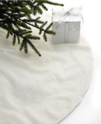 snowy tree skirt | Holidays | Pinterest | Tree skirts and Holiday ...