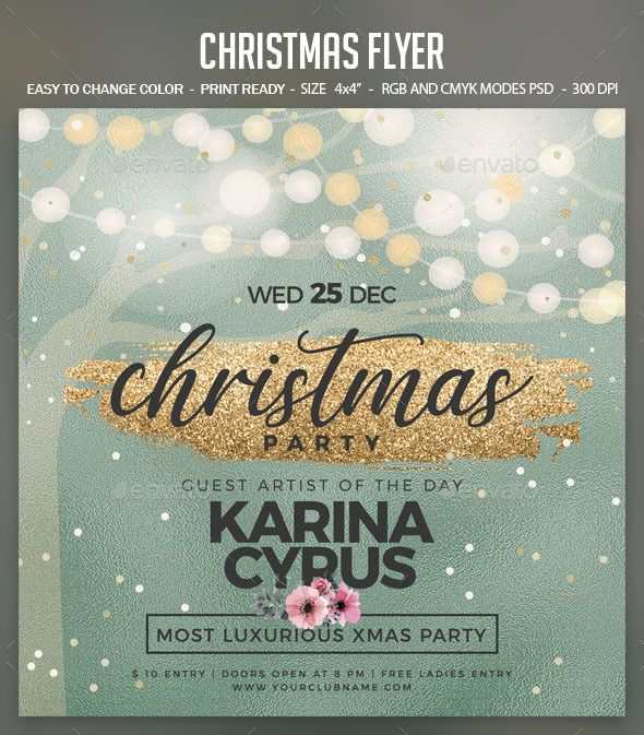 Christmas. Customizable template for a party flyer. #FlyerTemplate #flyer #party #GraphicTemplate #design #PrintDesign #abstract #bash #celebration #celebrations #christmas #Christmas2020 #ChristmasFlyer #ChristmasMagic #ChristmasNight #ChristmasParty #colorful #elegant #eve #glitter #glittering #glowing #gold #magical #MerryChristmas #NewYear #simple #template #WhiteChristmas #xmas