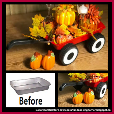 Dollar Store Crafter: Turn Dollar Tree Items Into A Little Red Wagon ~ D...