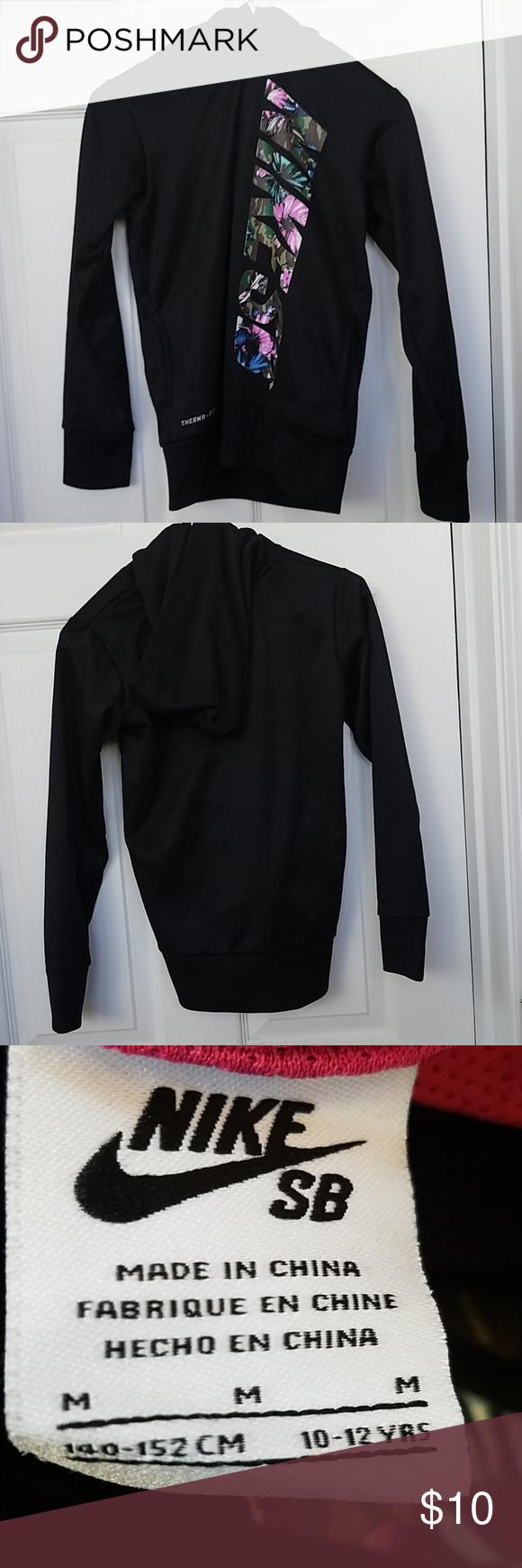 Nike Girls' sweatshirt Medium 10-12 years old | Nikes girl, Girl ...