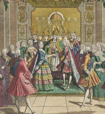 Le mariage du dauphin Louis et de Marie-Antoinette | Marie antoinette,  Dauphin, Marie thérèse