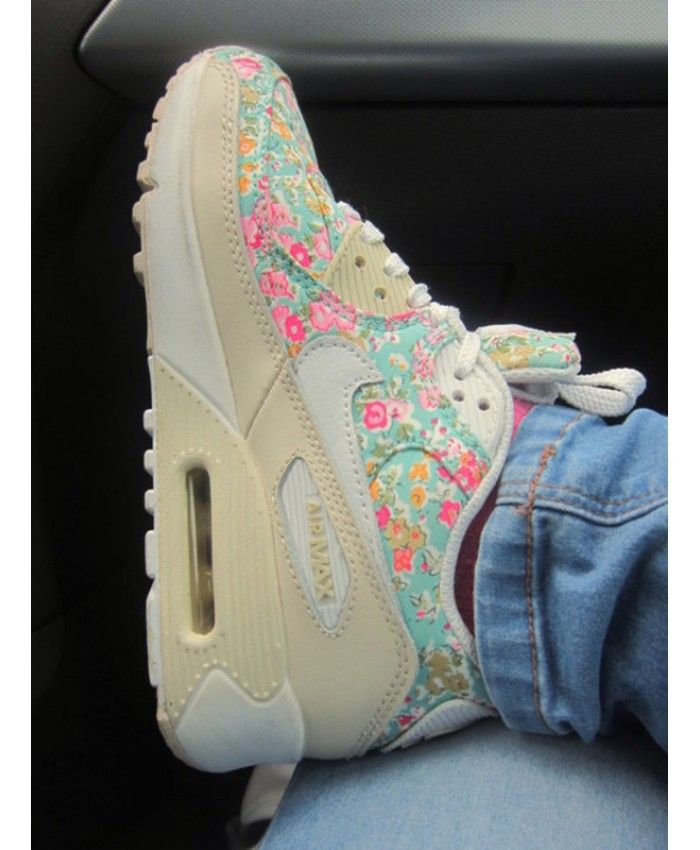 744274a070e Order Nike Air Max 90 Womens Shoes Floral Official Store UK 1359 ...