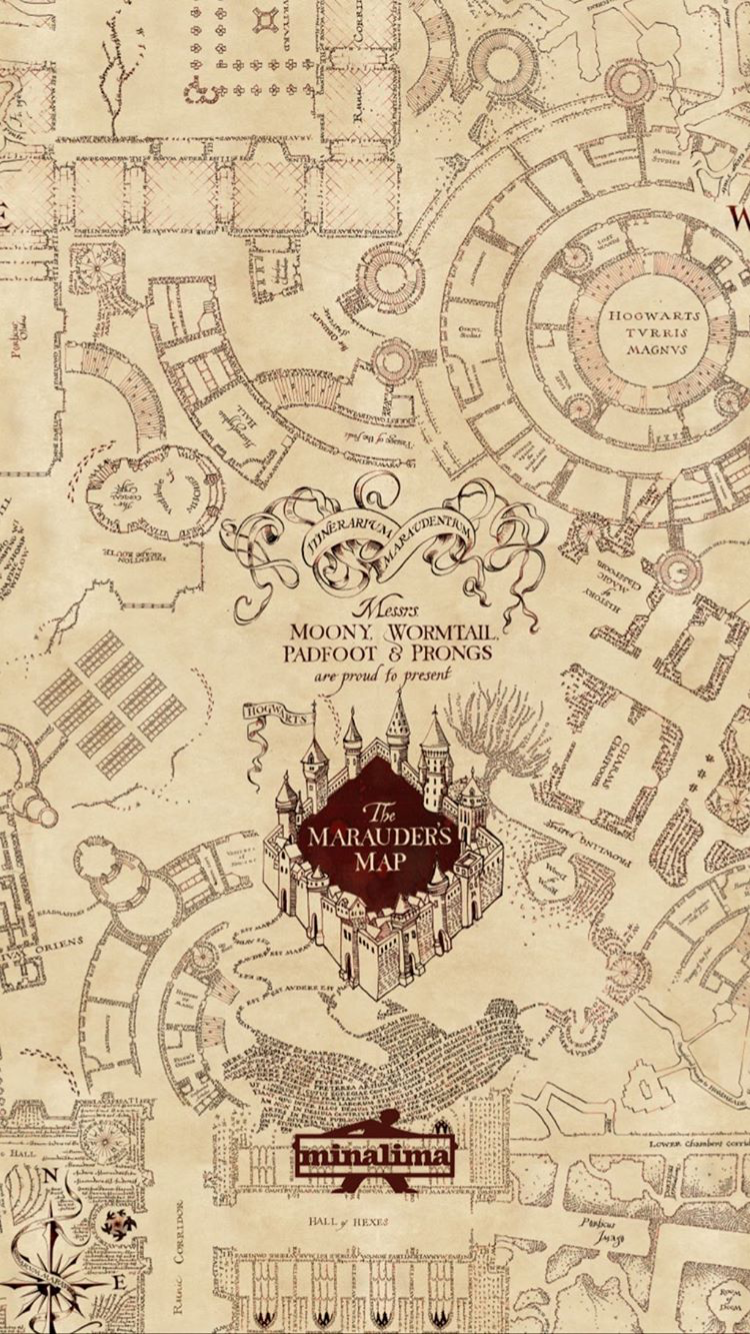 Harry Potter Phone Background The Marauders Map Harry Potter Wallpaper Harry Potter Background Harry Potter Images