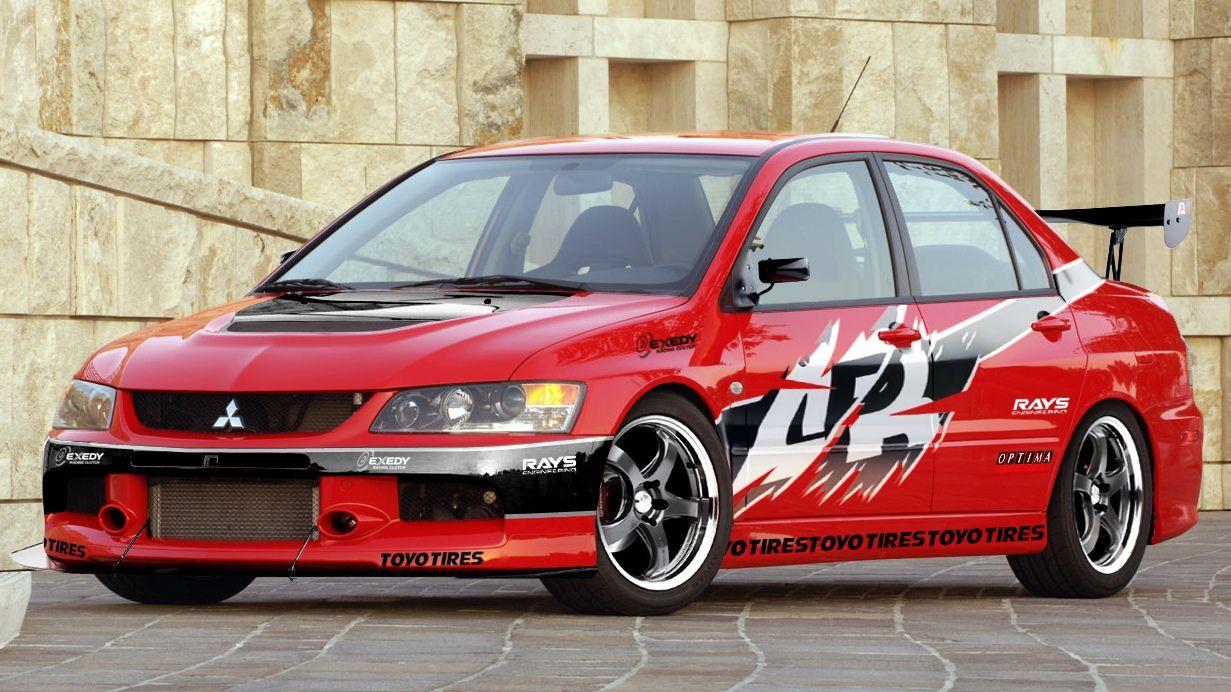 Mitsubishi lancer evolution viii fast furious tokyo drift
