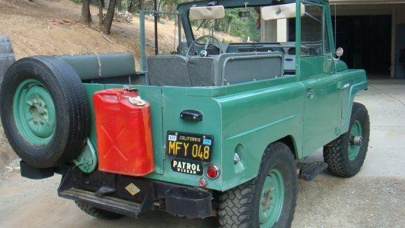 The Anti Fj Black Plate 1964 Nissan Patrol Nissan Patrol Nissan Nissan Trucks