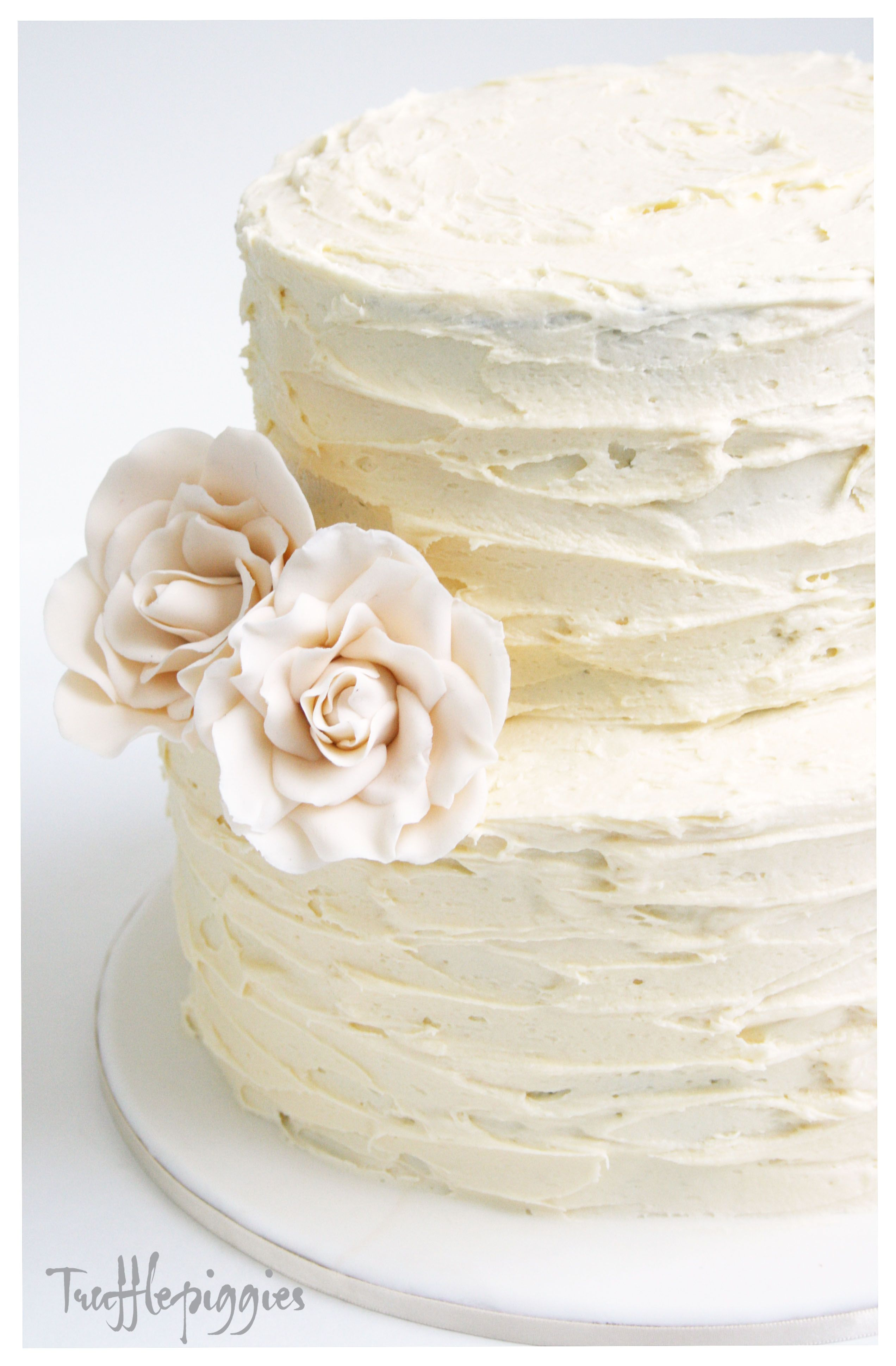 We would like the round two-tier cake for our wedding cake. Vanilla ...